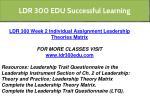 ldr 300 edu successful learning 8
