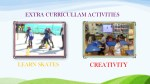 extra curricullam activities