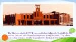 the modern school cencr was established in kundli