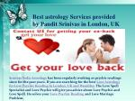 best astrology services provided by pandit
