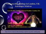 love psychic readings in london uk astrologer