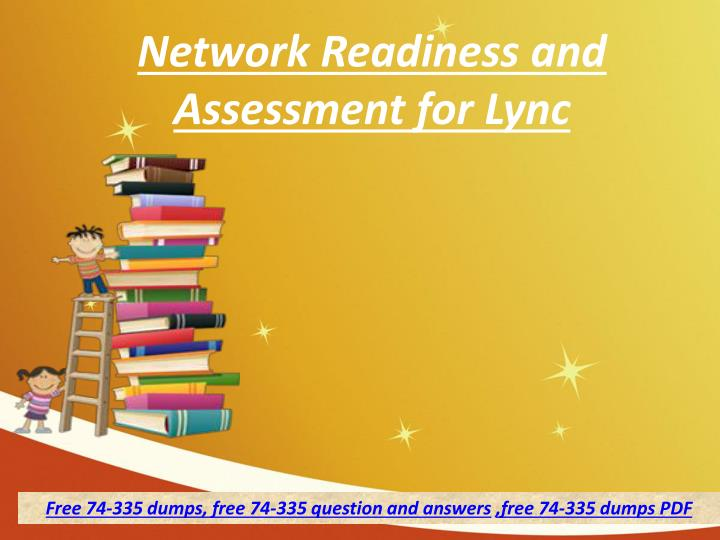 network readiness and assessment for lync n.