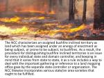 the ncc characterizes an assigned bushfire