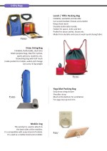 utility bags 1
