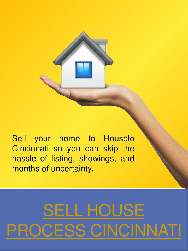 sell house process cincinnati n.