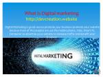 what is digital marketing http devcreation website