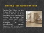 flooring tiles supplier in pune