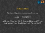 to know more