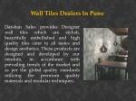 wall tiles dealers in pune