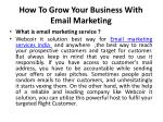 how to grow your business with email marketing 2