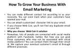 how to grow your business with email marketing 4
