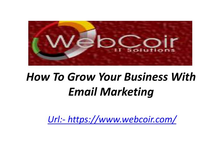 how to grow your business with email marketing n.
