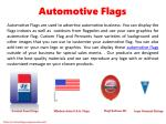 automotive flags