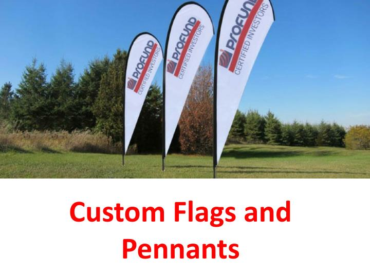 custom flags and pennants n.
