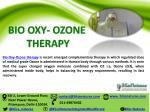 bio oxy ozone therapy