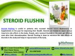 steroid flushin