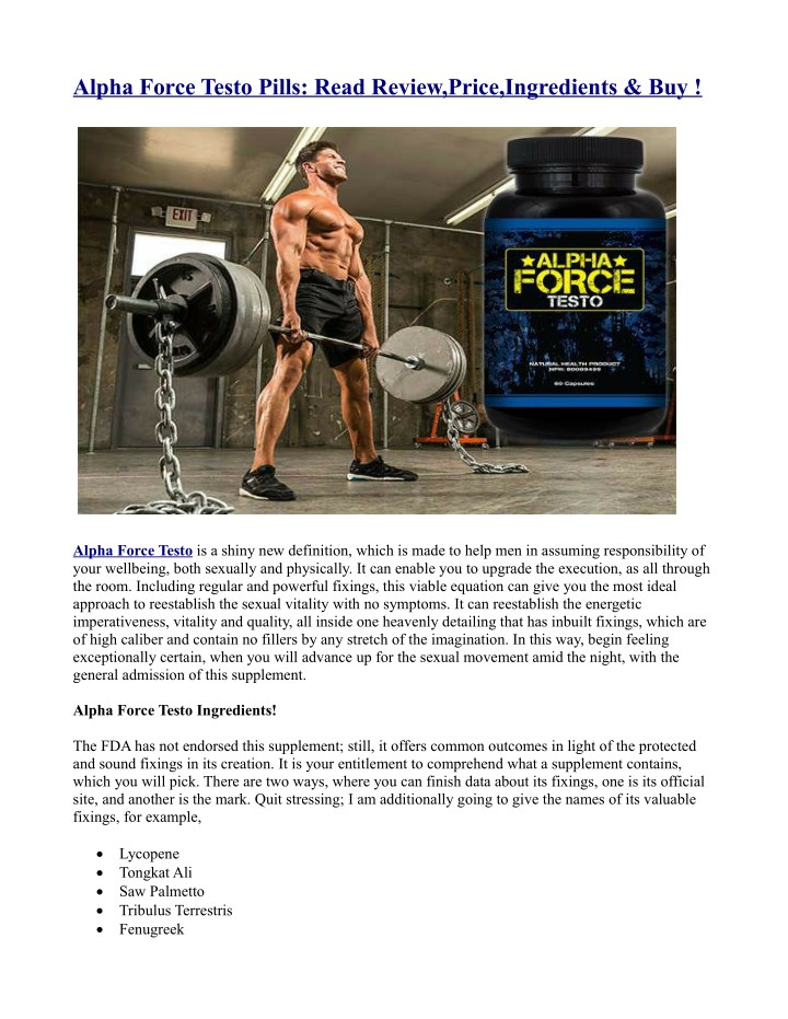 alpha force testo pills read review price n.
