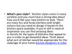 what s your style kitchen styles come in many