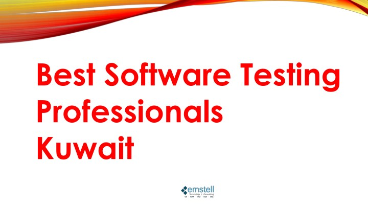 best software testing professionals kuwait n.