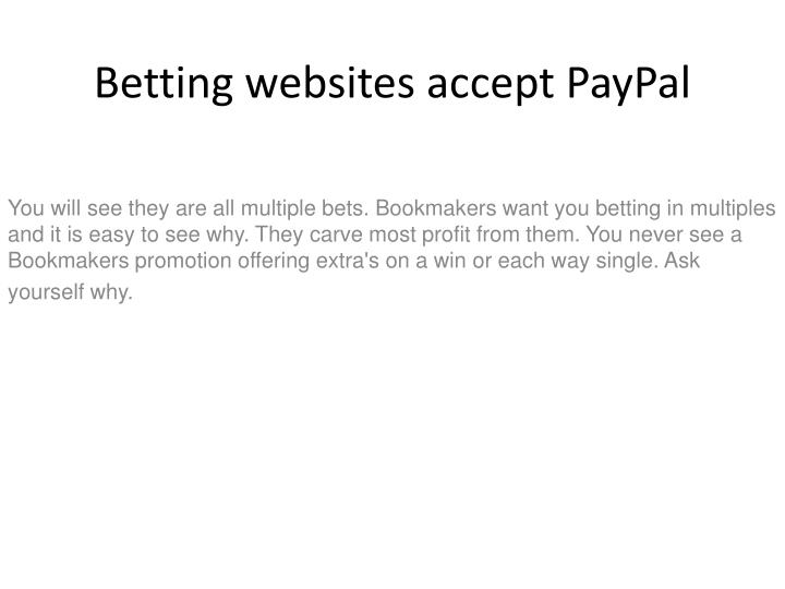 betting websites accept paypal n.
