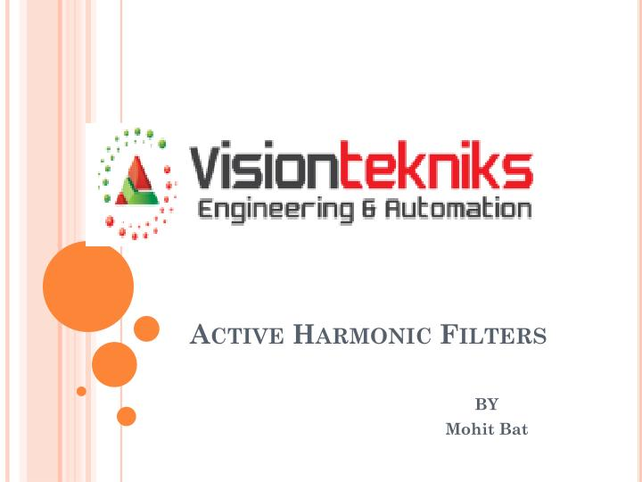 active harmonic filters n.