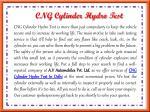 cng cylinder hydro test