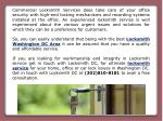 commercial locksmith services does take care