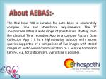about aebas