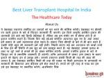 best liver transplant hospital in india 1
