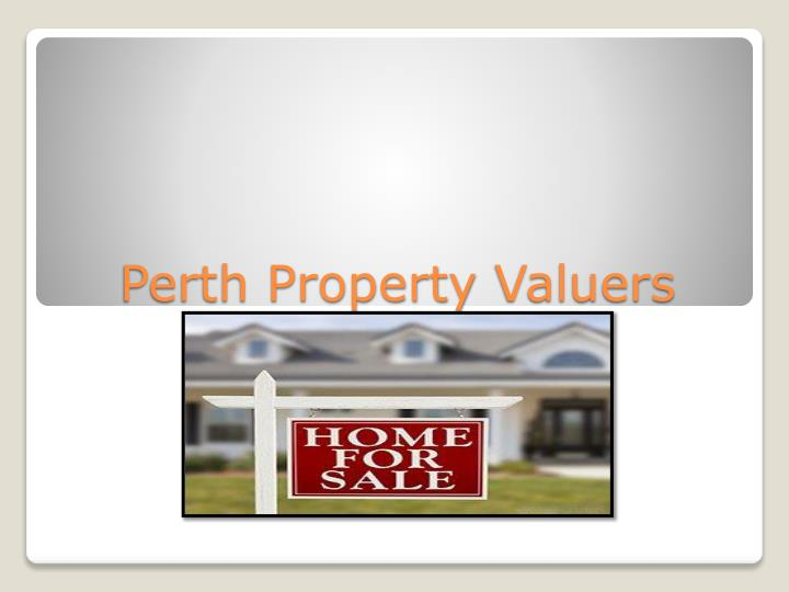 perth property valuers n.