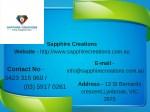 sapphire creations