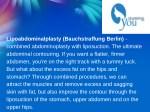 lipoabdominalplasty bauchstraffung berlin