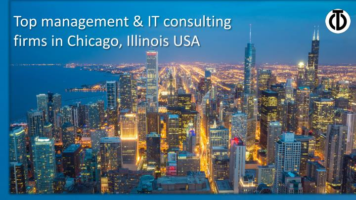 top management it consulting firms in chicago n.