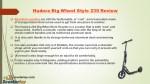 hudora big wheel style 230 review