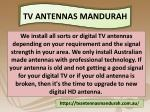 tv antennas mandurah