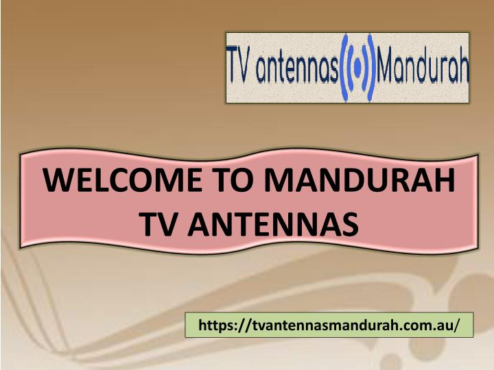welcome to mandurah tv antennas n.