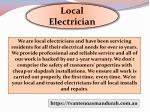 local electrician