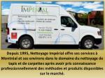 depuis 1995 nettoyage imp rial offre ses services