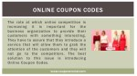 online coupon codes 1