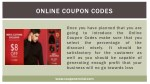 online coupon codes 3