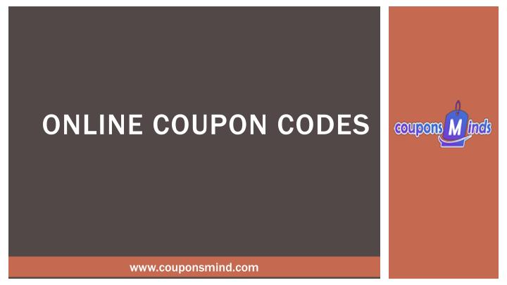 online coupon codes n.