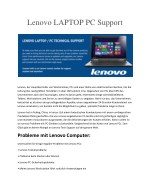 lenovo laptop pc support
