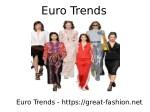 euro trends 1