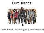 euro trends 2