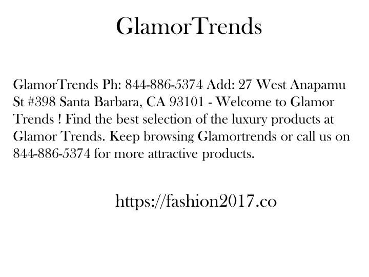 glamortrends n.