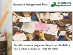 accounts assignment help