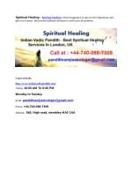spiritual healing spiritual healing is finest