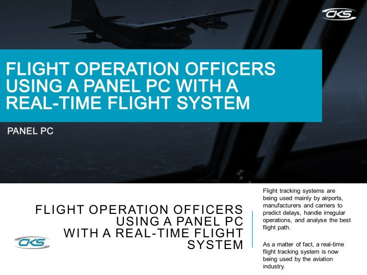 flight tracking systems are being used mainly n.