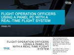 flight tracking systems are being used mainly