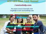 acc 423 read lead succeed newtonhelp com 1